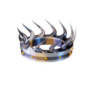 King of the hill crown